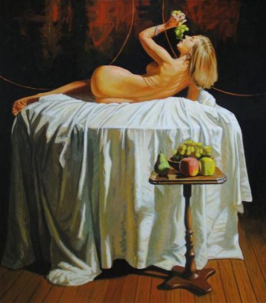 Bacchante Allegory of the Sense of Taste