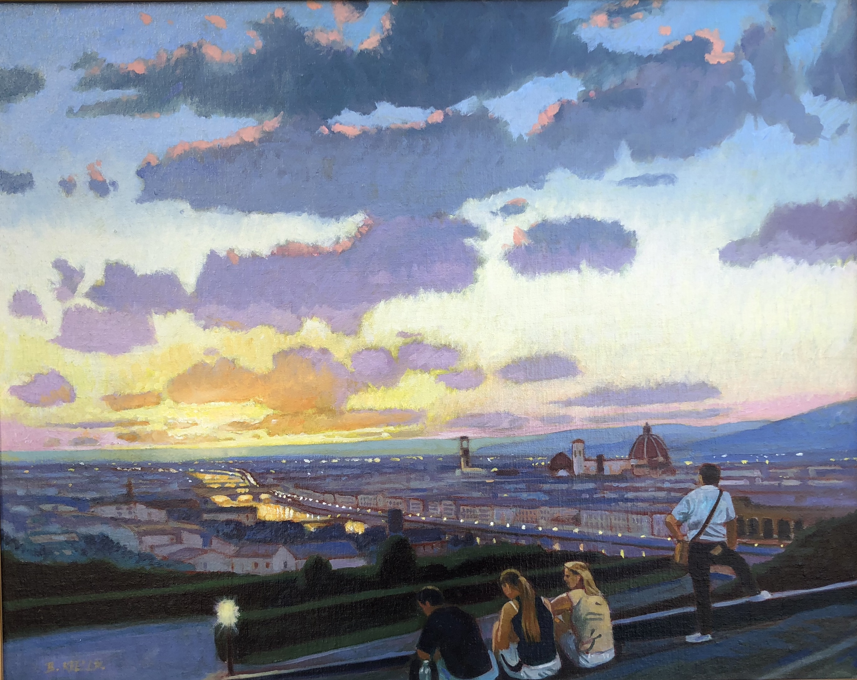 Evening in Florence
