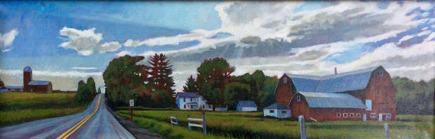 Sheshequin, PA, Summer Landscape