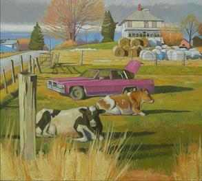 Cadillac Cows, Grant Hill, PA