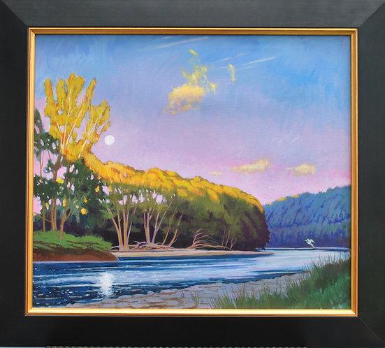 Susquehanna Solstice Moon