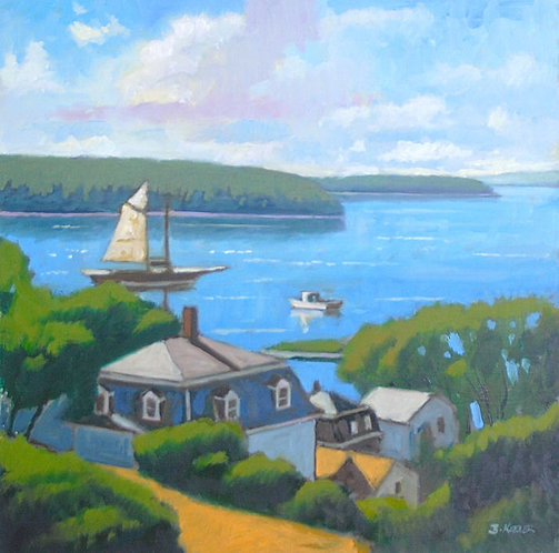 Stonington Maine, August Observation