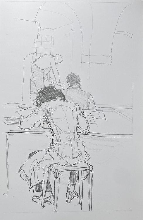 Artist's Drawing Model