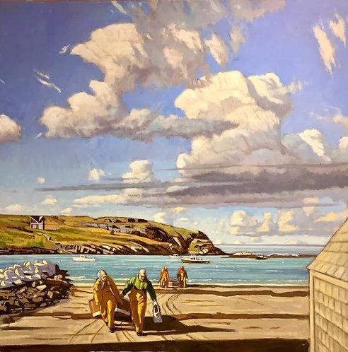 End of October, Monhegan Island