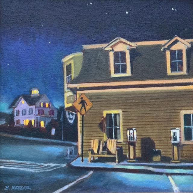 Stonington,  - Nocturne in Maine