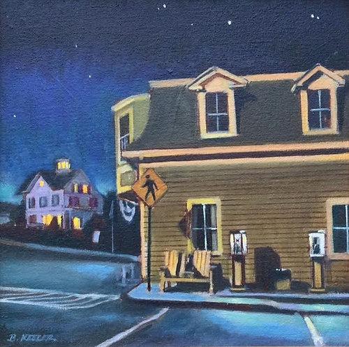 Stonington, - Nocturne in Maine