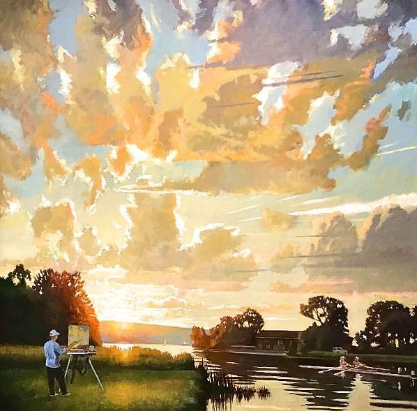 ASummer-_Cayuga_Lake_Luminosity_____Oil_