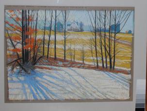 Huffman Farm- Winter