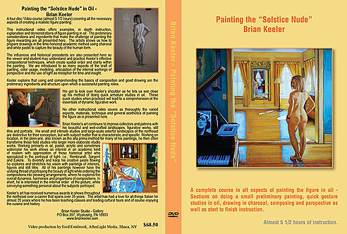 "Painting the ""Solstice Nude"" in Oil"