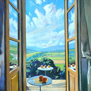 Two Still Lifes Over The Arno Valley