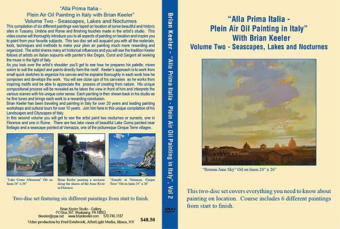 All Prima Italia - Plein Air Oil Painting in Italy - Volume 2
