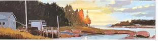 October Evening Deer Isle, Maine