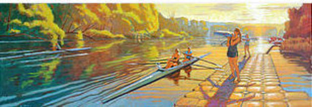 Cayuga Scullers July Evening