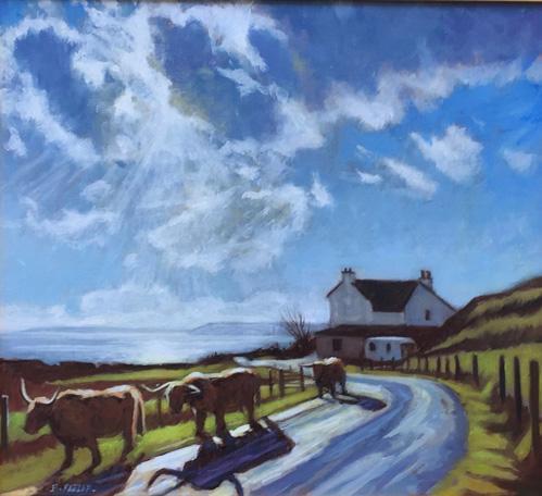 Oxen of the Sun, Isle of Skye, Scotland