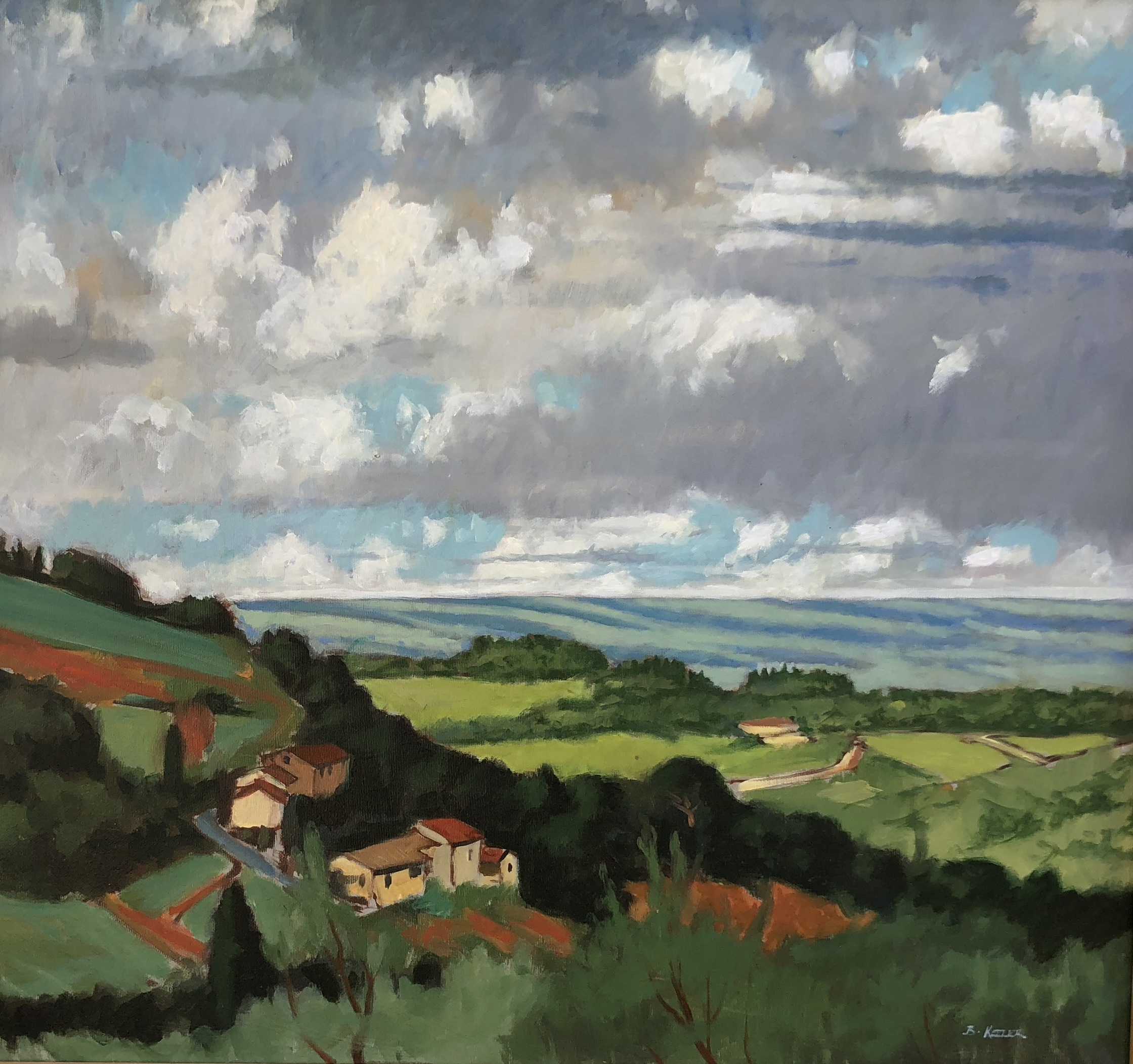 San Gimignano - May Clouds