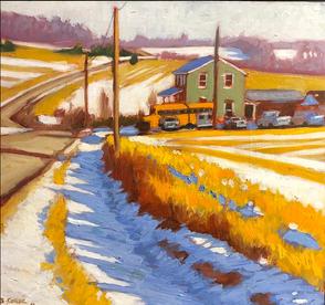 Sheshequin Town Winter