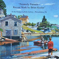 Painterly Pursuits - Recent Work by Brian Keeler