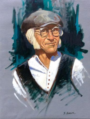 Portrait of Peter Klosky
