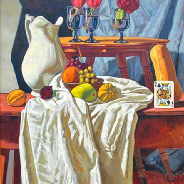 Still Life With King of Spades