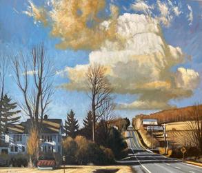 Spring Equinox- Turkey Hill Road, Ithaca
