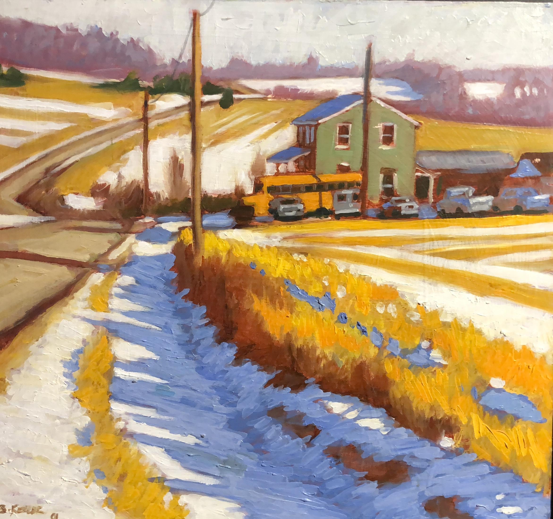 Sheshequin Township-Winter