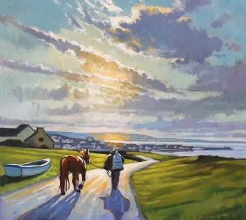 Inis Oirr Ireland - Walk to Town