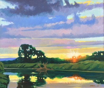 Island Sunset, Terrytown, PA