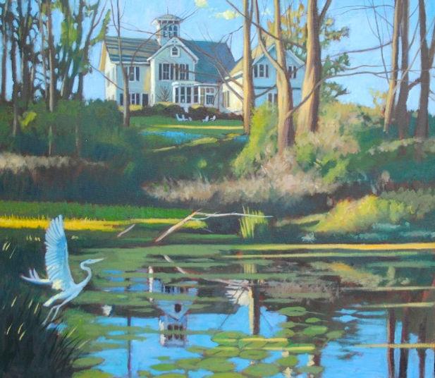 Spring Pond Light