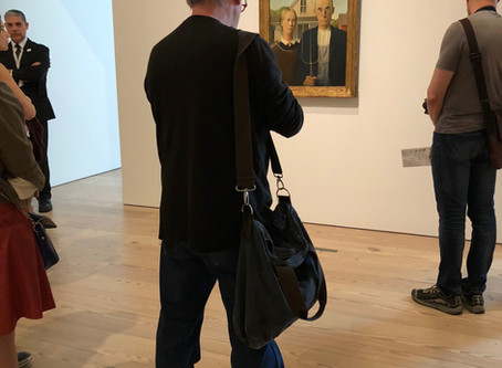 A Nod to the Heartland - Reflections on Grant Wood - An American Vision