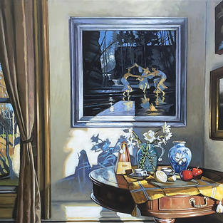Early Morning Light- Still Life with Three Graces