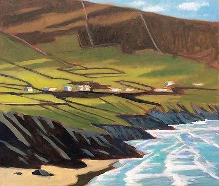 Light on Seaside Pasture, Dingle Ireland