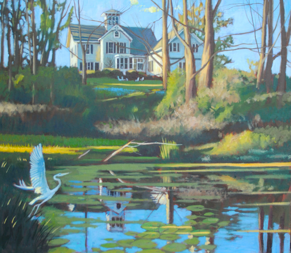Spring Pond Light-Ithaca