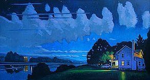 Ithaca August Nocturne