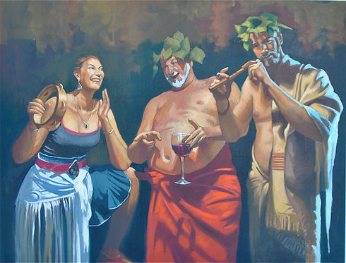 Silenus and Merry Company