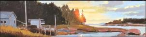 October Evening, Deer Isle Maine