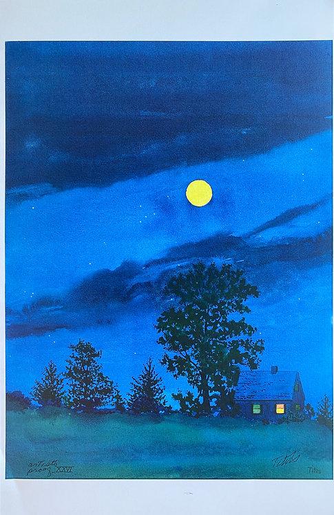 Cottage Moon