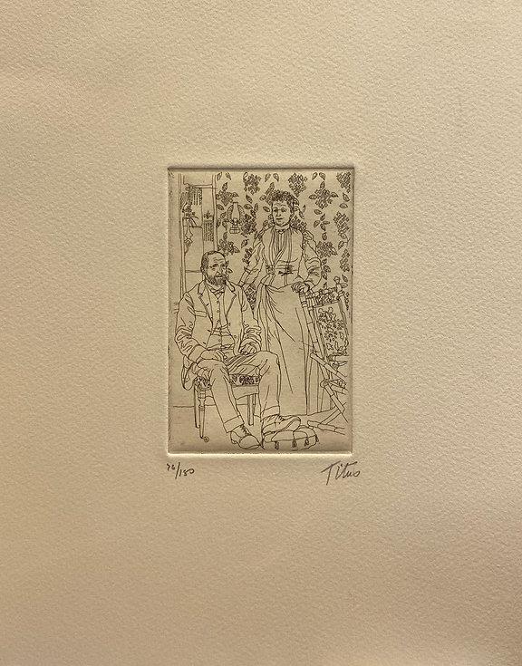 IMG_2842Couple, signed etching, 11 x 8.7