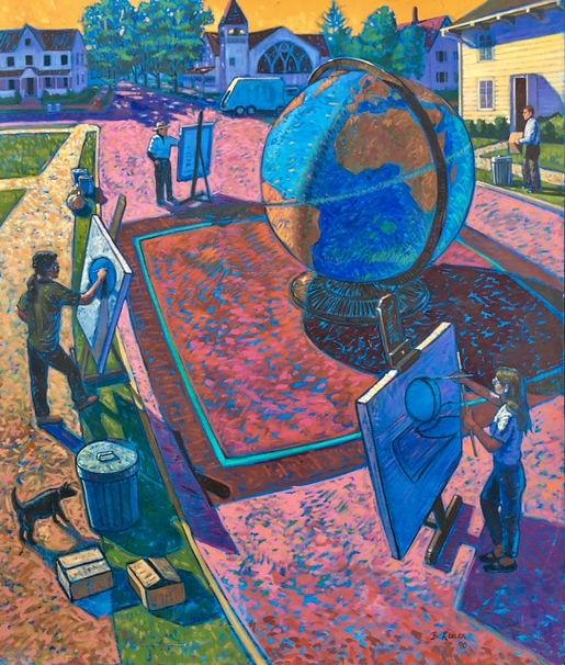 New World Views- Think Globally, Visuali