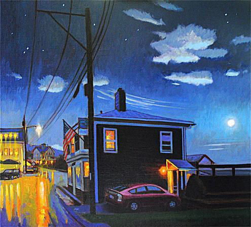 Stonington, August Nocturne