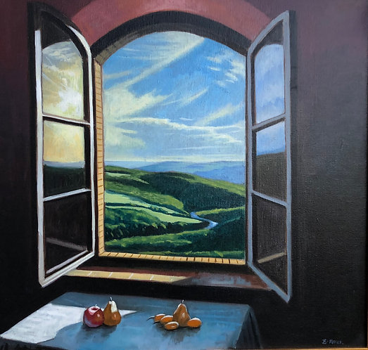 Tuscan Window Still Life