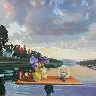 Riverscape With Still Life