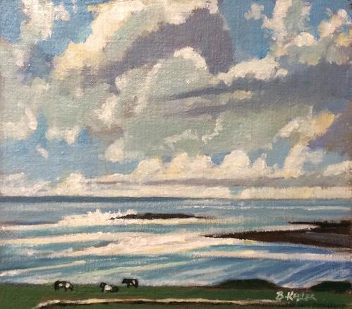October Seaside Clouds at Doolin