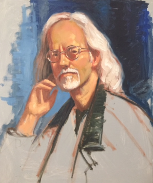 Portrait of Warren Greenwood Oil on canv