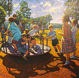 Children at Stewart Park