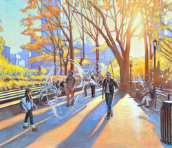 Autumnal Ephemera, Union Sq., NYC