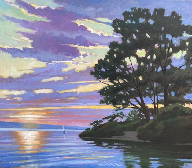 Summer Evening- Myers Point
