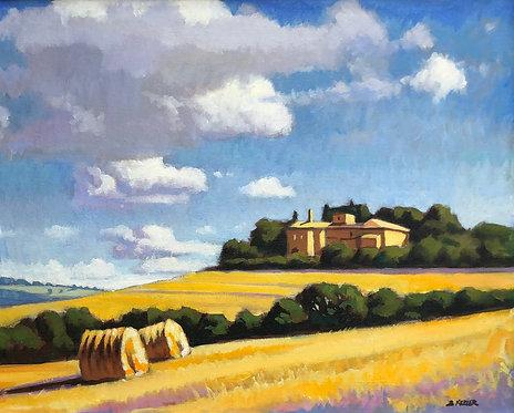 June Bales, Todi, Umbria