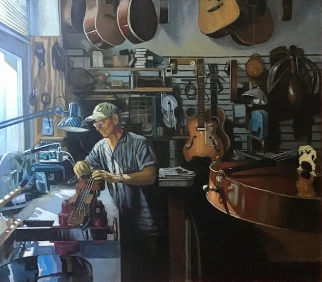 Luthier at Work- Harry Aceto