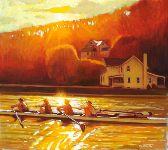 Sun Glint on Inlet