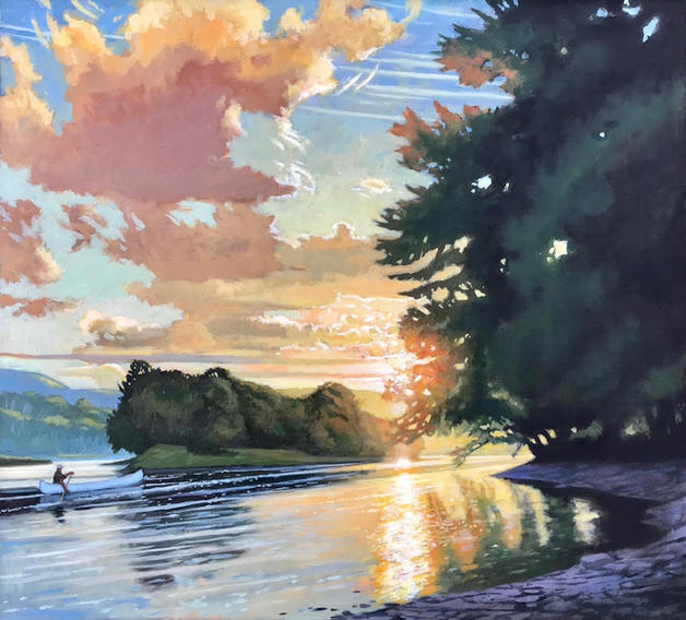 Into the Light-Susquehanna August Eventide